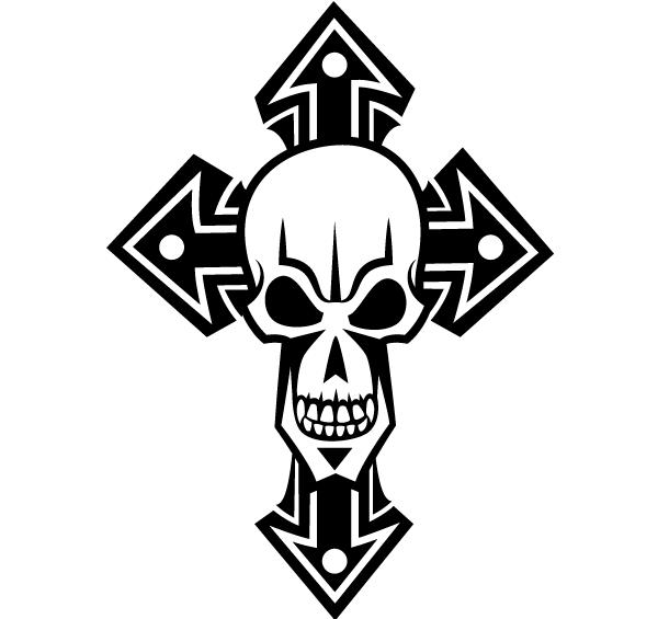 7 Skull Vector Clip Art Images