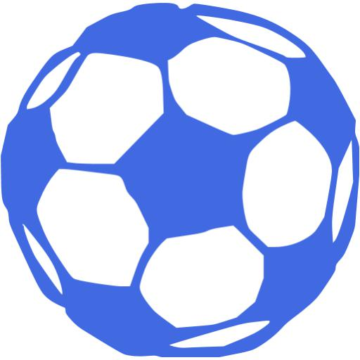 14 Blue Soccer Icon Images