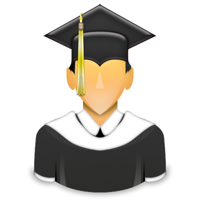 6 University Student Icon Images