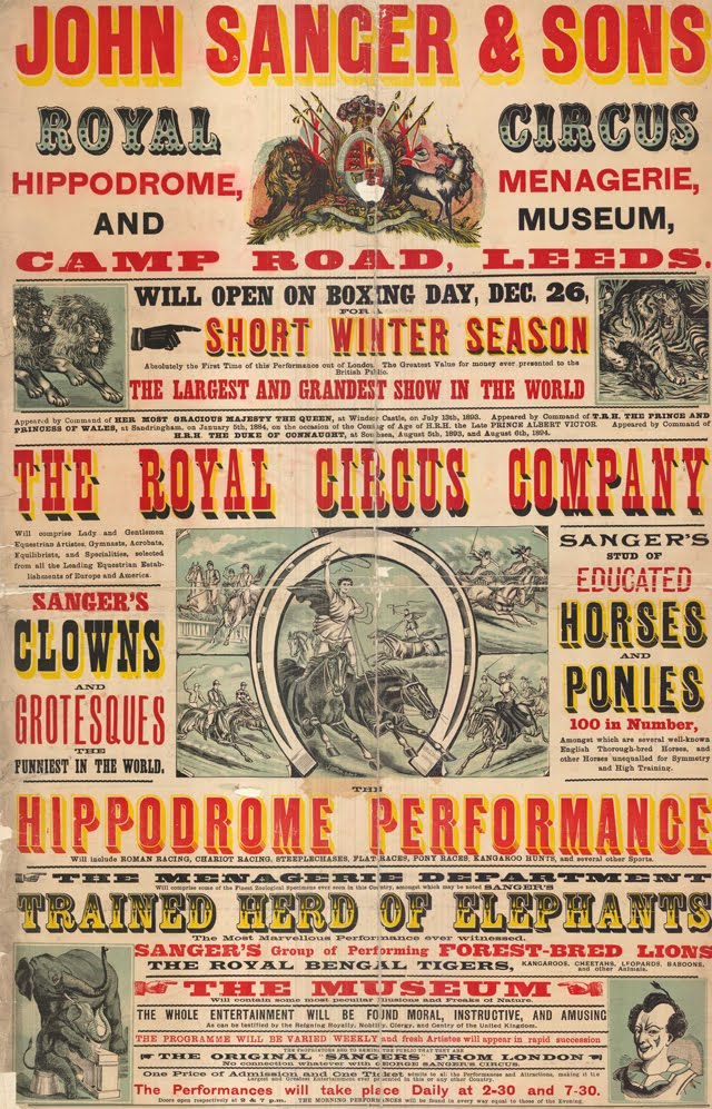 9 Circus Poster Font Images