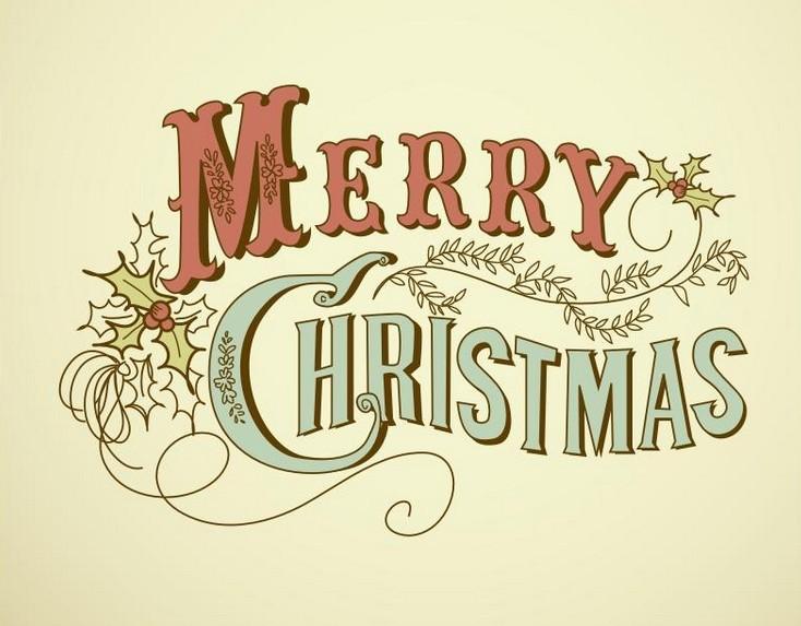 Merry christmas script font images