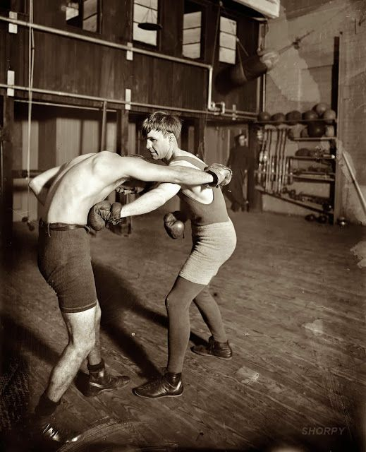 Vintage Women Boxing Matches