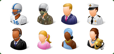 Vista Style People Icon