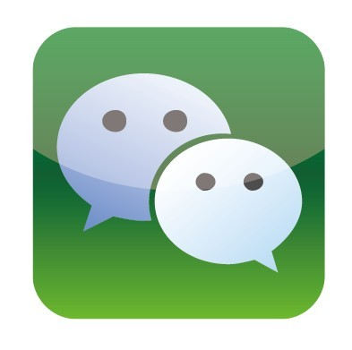 We Chat Icon Vector