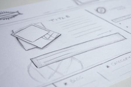 Web Design Sketches