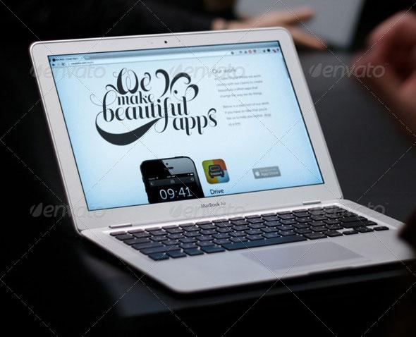 Website Design Mock UPS