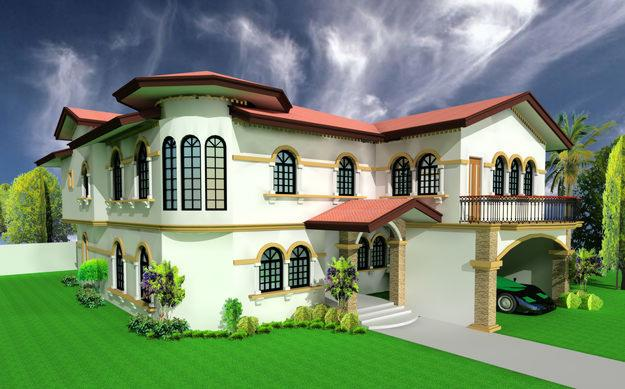 3D Home Design House