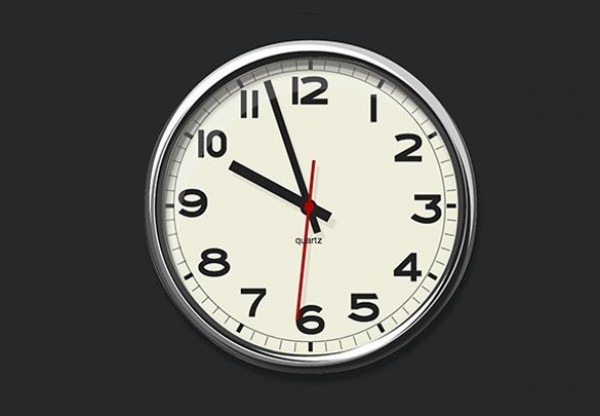 8 Wall Clock PSD Template Images