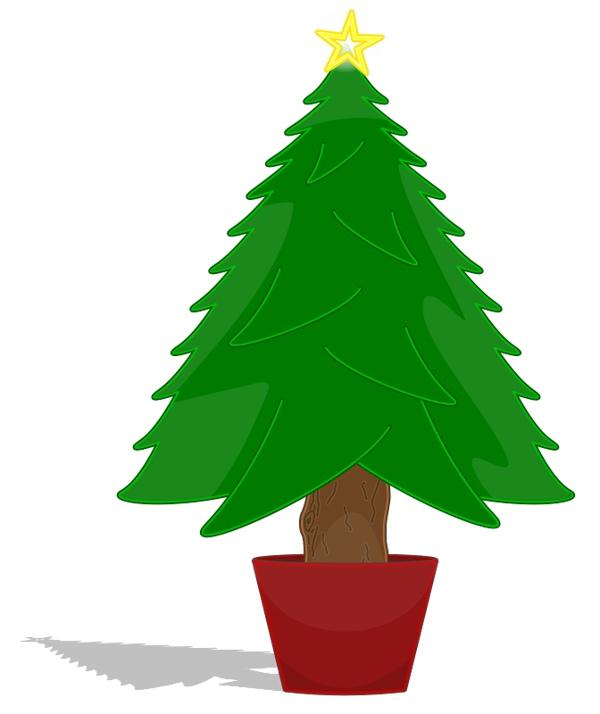 Animated Christmas Tree Clip Art