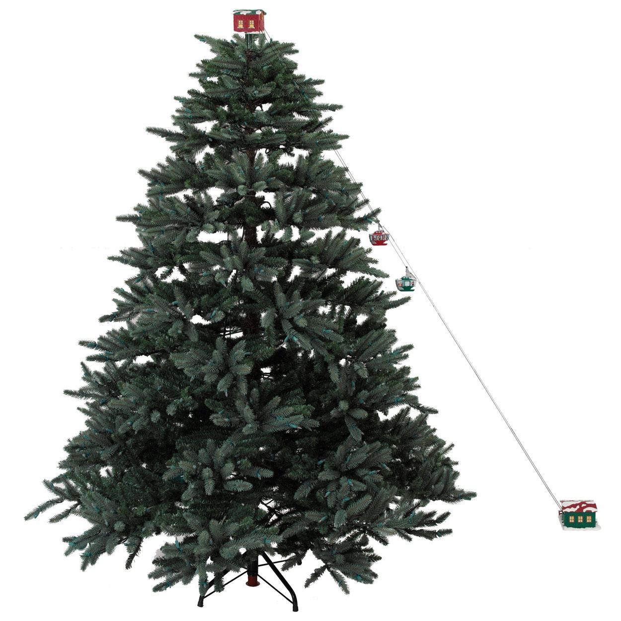 Animated Green Christmas Tree