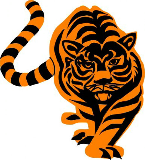Animated Tiger Clip Art