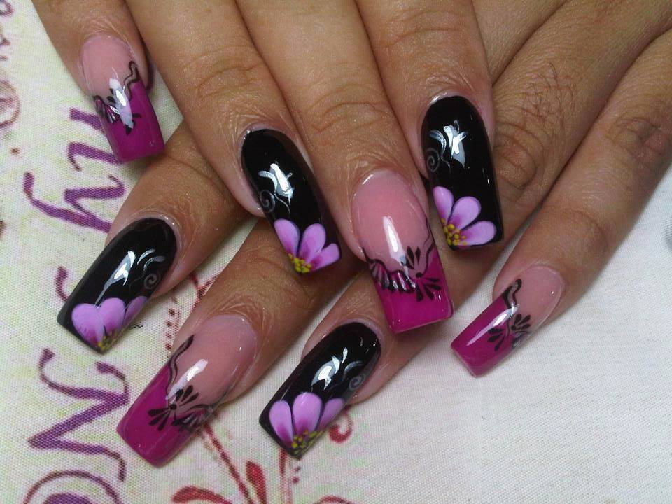 7 Beautiful Nail Art Designs Images