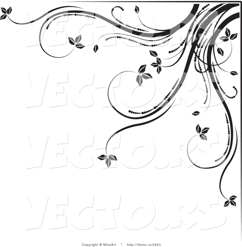 Black and White Border Designs