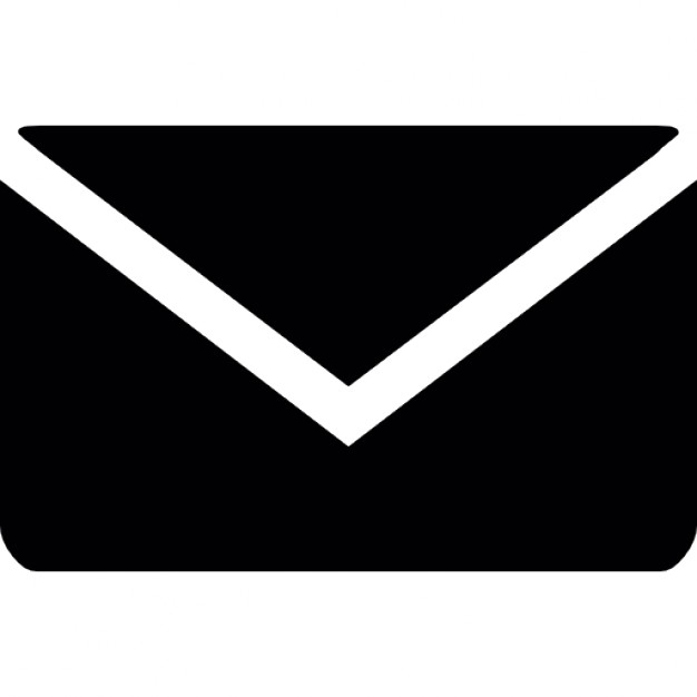 10 Email Envelope Icon Black Images