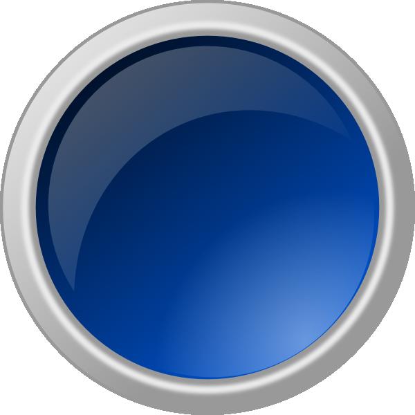 15 Blue 3D Button Icon.png Images - Blue Rectangle Clip ...