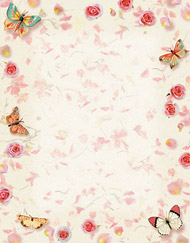 Butterfly Design Paper