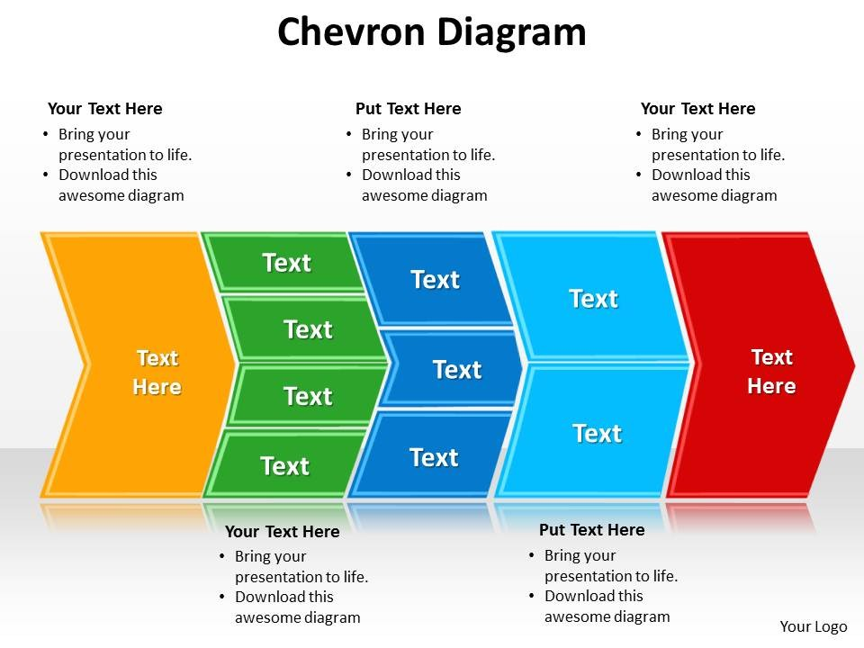 Chevron Diagram PowerPoint Template