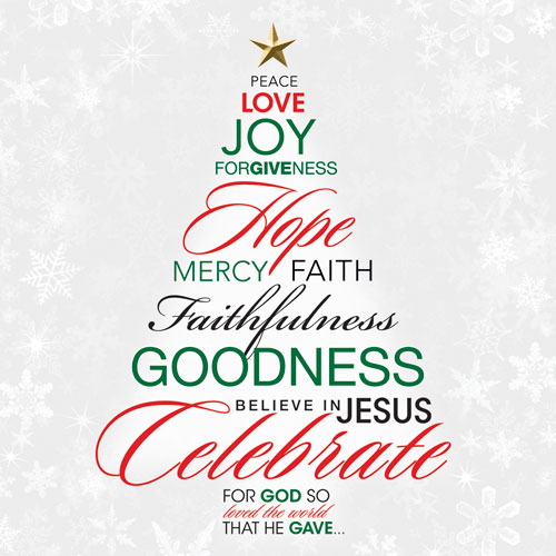 20 Words Christmas Trees Free Graphics Images