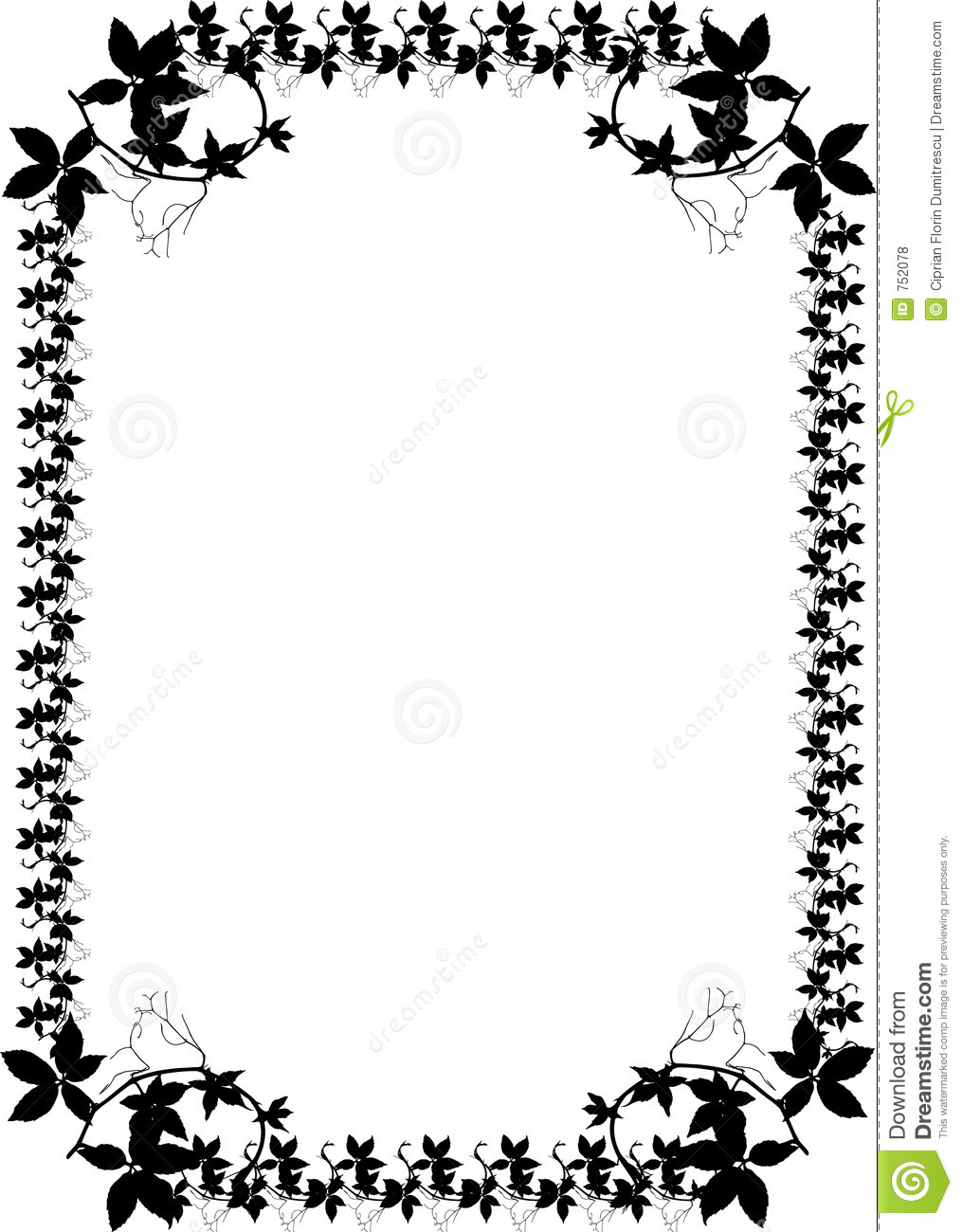 19 Black Border Designs Cool Images - Black and White ...