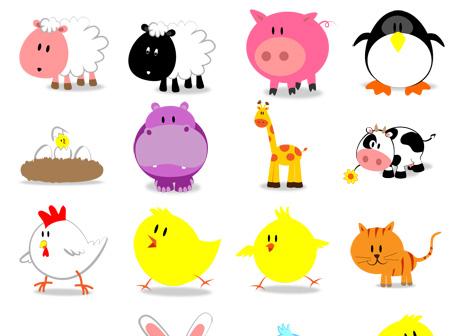 Cute Animal Icon Free