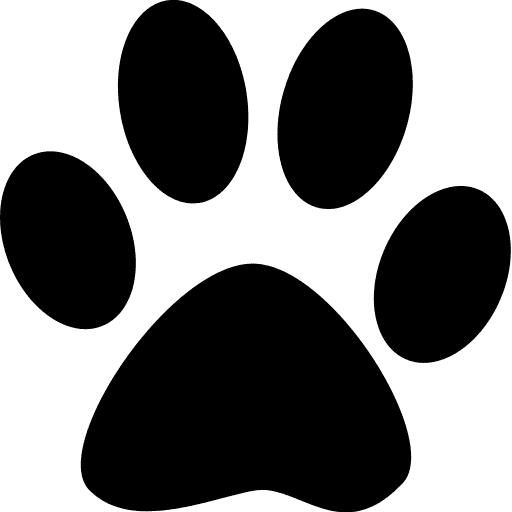 Dog Paw Print Shape