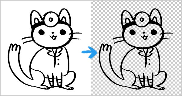 14 Photoshop Line Art Images - How to Turn Photo into Line