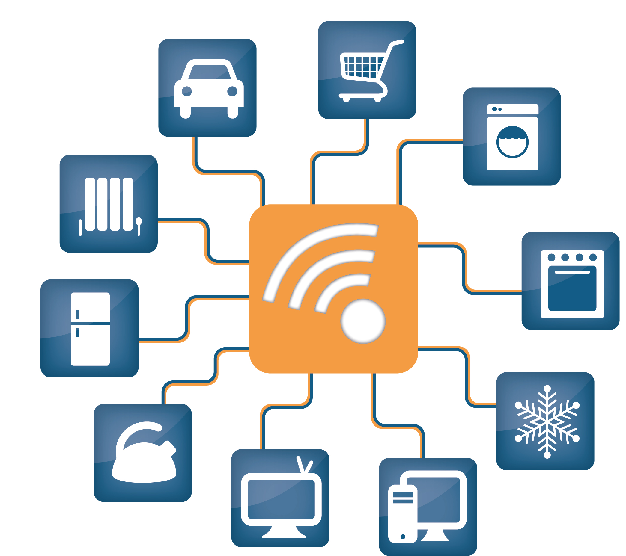 15 Iot Device Icon Images