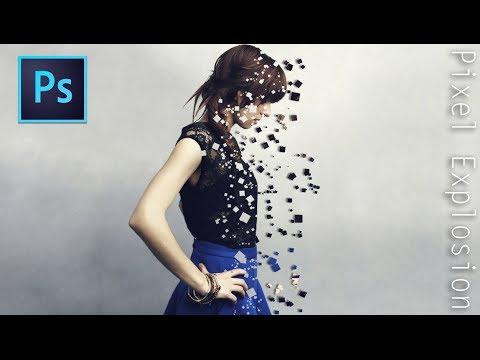 16 Pixel Effect Photoshop Images
