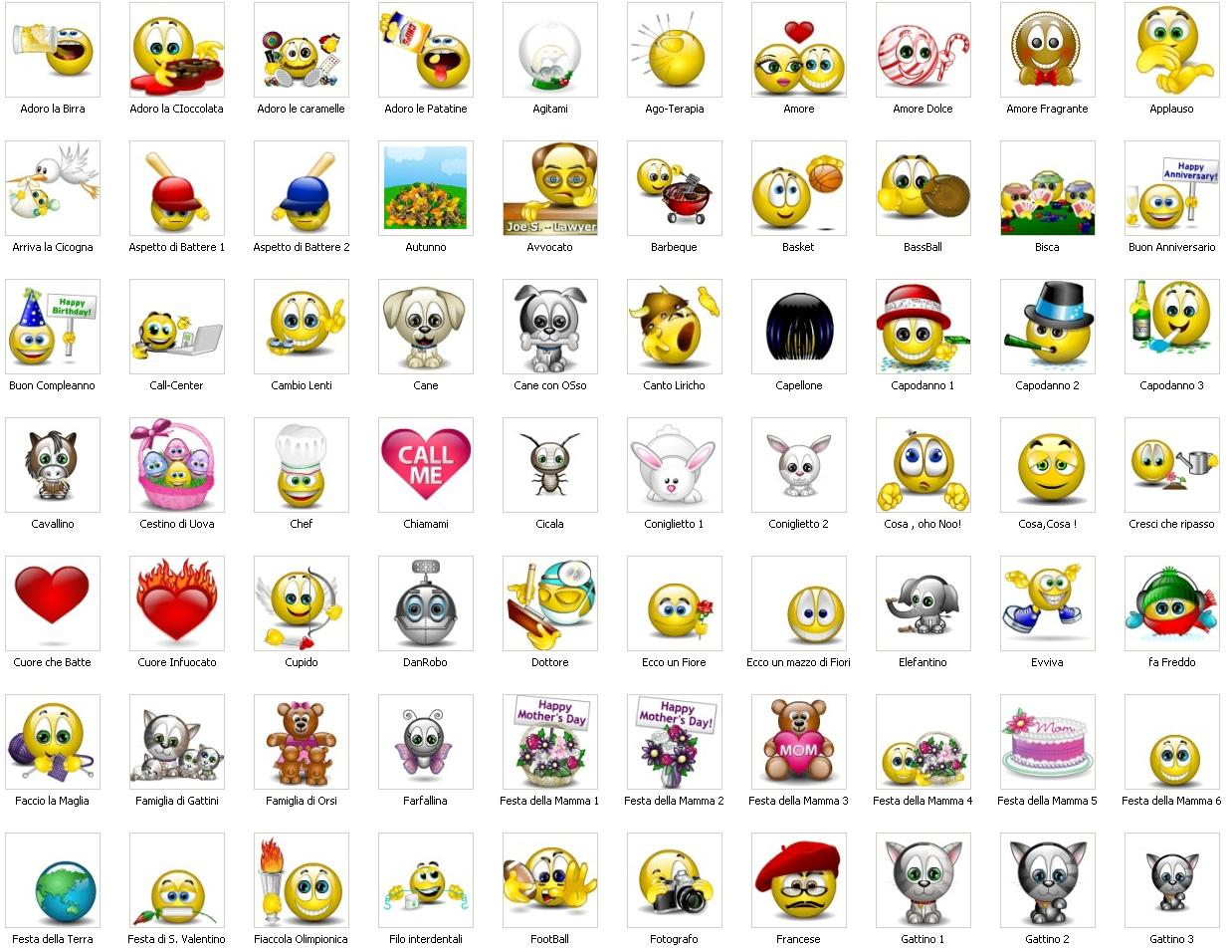 Free Animated Smiley Emoticons for Emails