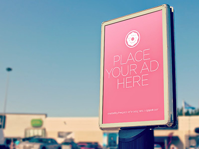Free Billboard Mock Up Psd