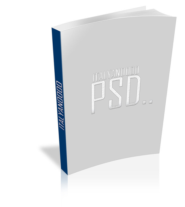 15 Book PSD Template Free Images
