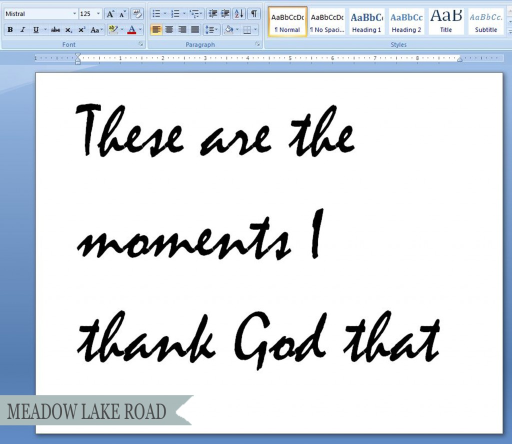 Free Calligraphy Fonts Microsoft Word