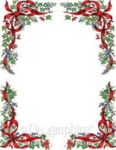 Free Christmas Paper Templates