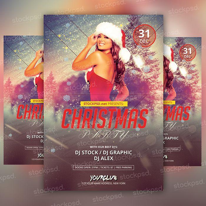 17 christmas vacation flyer free psd images christmas holiday flyer templates free printable for Christmas flyers psd