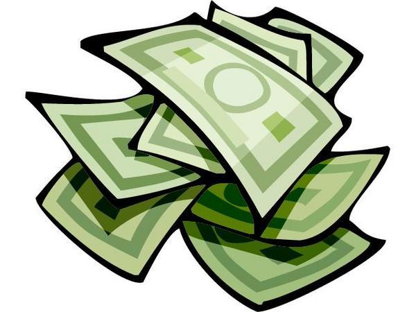 Free Clip Art of Money Dollar Bills