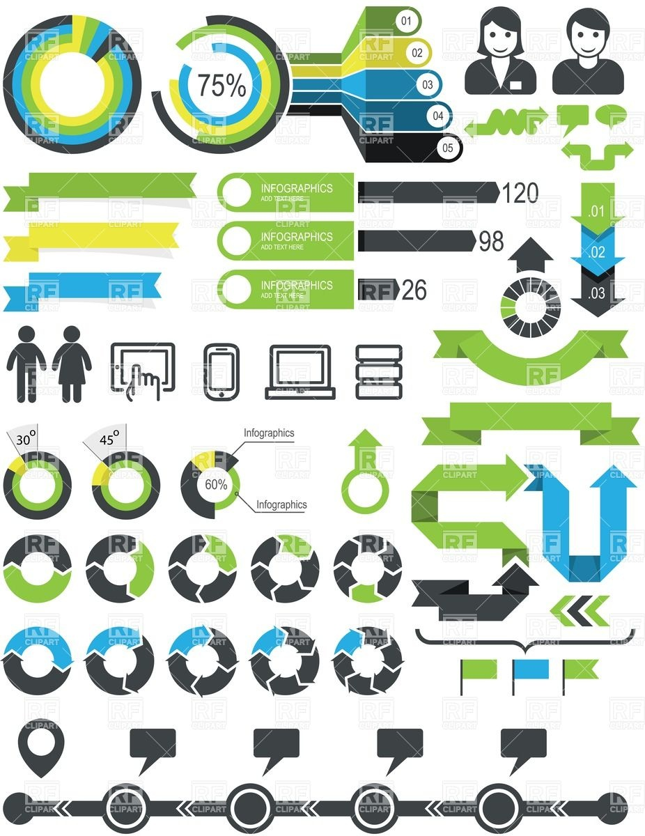 16 free infographic elements images free infographic