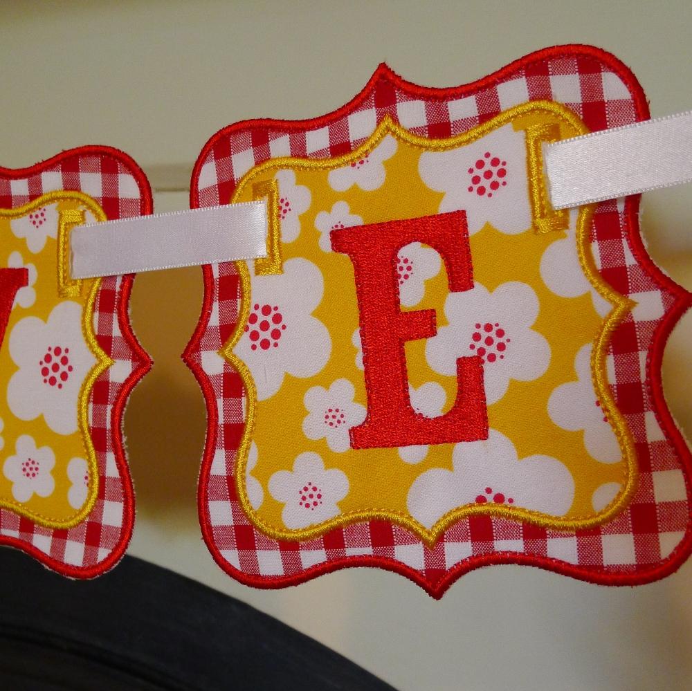 Machine Embroidery Circle Background Design