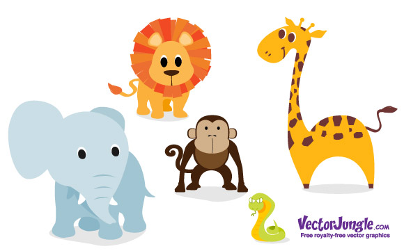 15 Baby Animals Vector Images