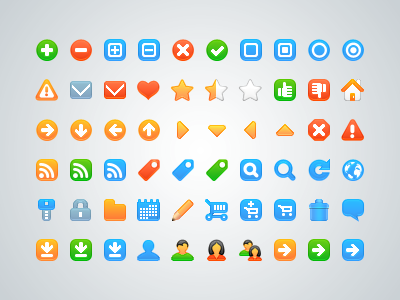 Free Vector Icons for Web Development