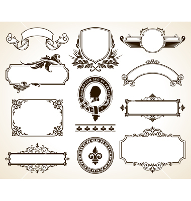 18 Ornate Frame Vector Free Logo Images - Free Ornate Vintage Frame ...