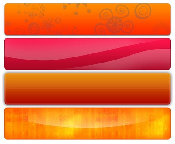 17 Web Banner Templates Free Images - Website Banner ...