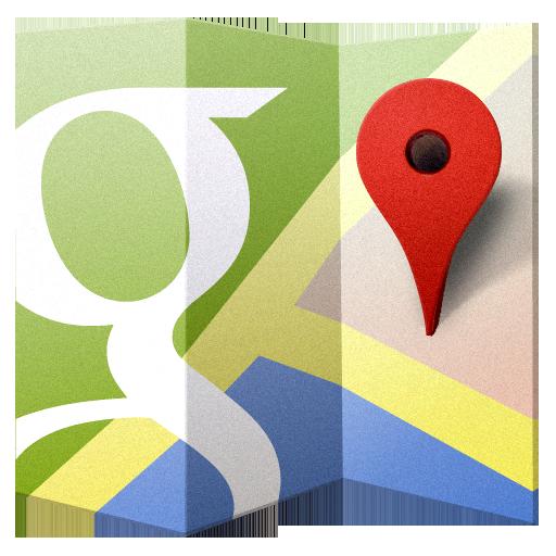 7 Google Maps Icon ICO Images