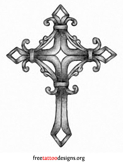 Gothic Cross Tattoo Designs