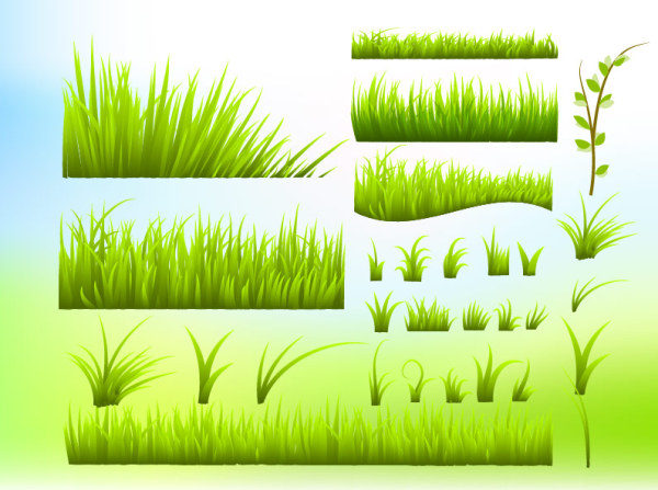 14 Greengrass Vector PNG Free Download Images