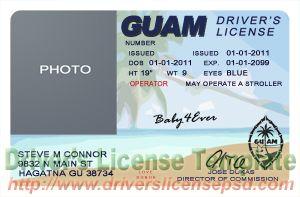 Guam Drivers License
