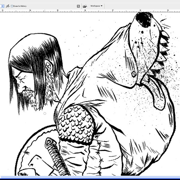 14 Photoshop Line Art Images How To Turn Photo Into Line