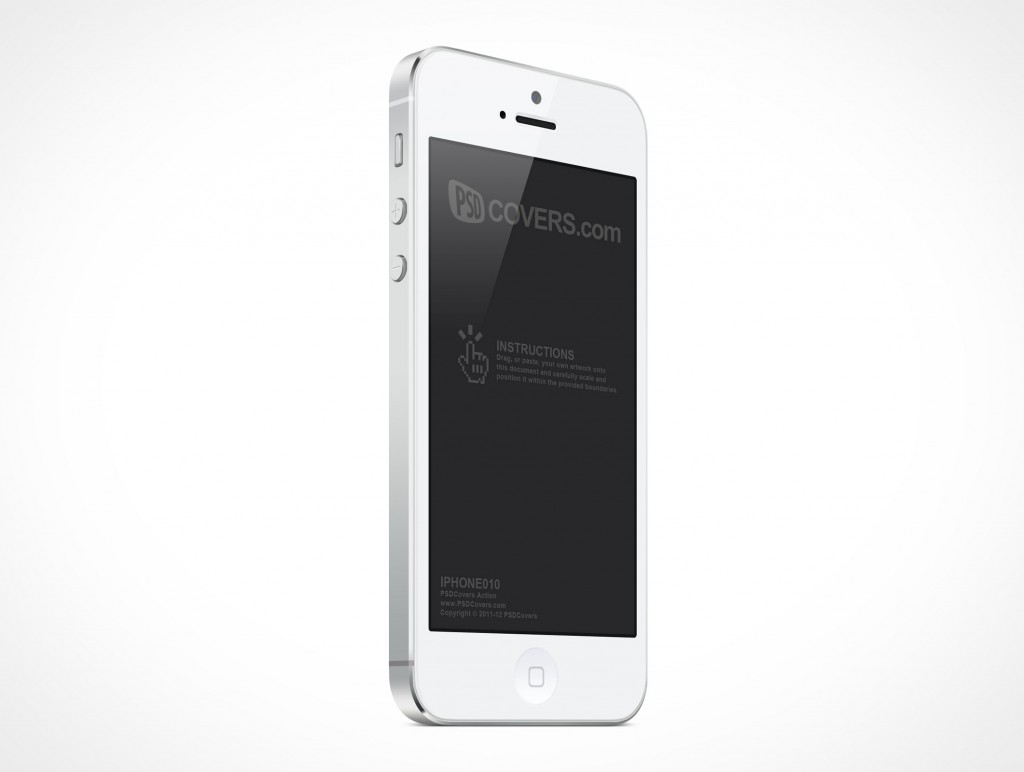 8 IPhone 5 Mockup PSD Images