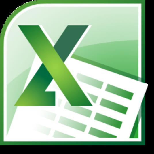 Microsoft Excel 2010 Logo