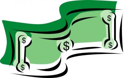 Money Dollar Bill Clip Art Free