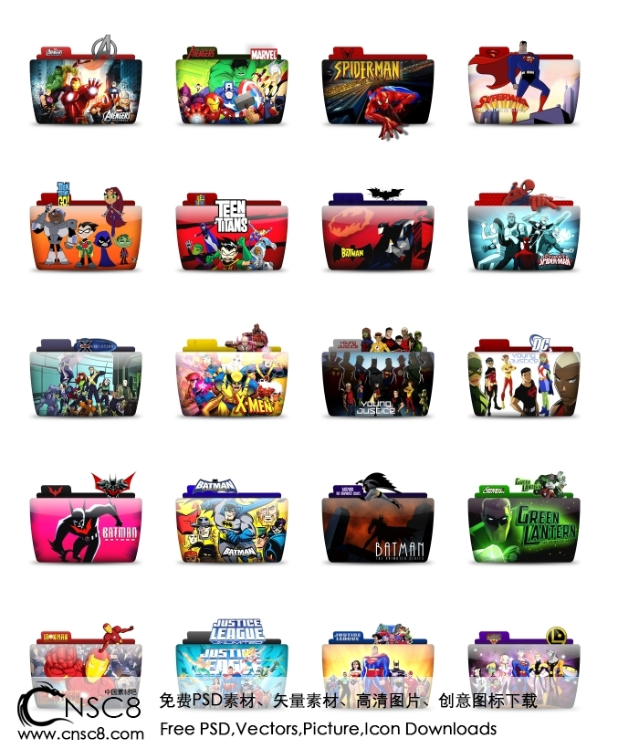 Movie Folder Icons Free Download